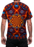 Cactivated DNA | Mens T-Shirt | Clothing | Aesthetic | Yoga | Festival | Psychedelic | Psy | Gift | For Him | Sacred Geometry Cactus