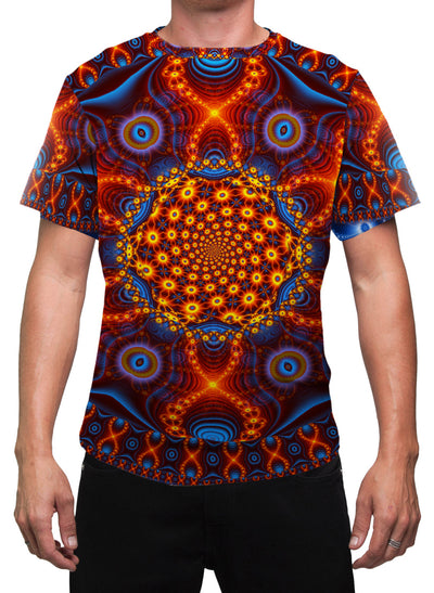 Psychedelic Mens T-Shirt | Festival Clothing | Cactus | Cactivated DNA