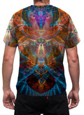 Shamanic Mens T-Shirt | Festival Clothing | Animal Totem Shaman Animal