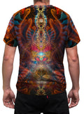 Shaman Dream | Mens T-Shirt | Clothing | Rave | Aesthetic | Festival | Psychedelic | Animal Totem | Jaguar