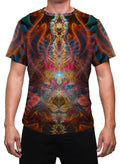 Shaman Dream| Mens T-Shirt | Clothing | Rave| Aesthetic | Festival | Psychedelic |Ayahausca|Animal