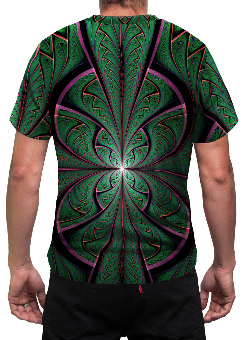 Shamanic Mens T-Shirt | Festival Clothing | Rave | Psy | Shamazonia