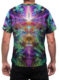 TrippinJaguar| Mens T-Shirt | Clothing | Rave| Aesthetic | Festival | Psychedelic |Ayahausca|Jaguar | DMT
