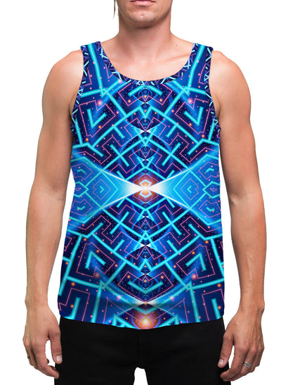 Cosmo| Mens | Tank Top | Spiritual | Aesthetic | Clothing | Tanks | Rave| Psychedelic| Festival | Meditation | Cosmic