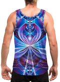 Key Of Life | Mens | Tank Top | Spiritual | Aesthetic | Clothing | Tanks | Rave | Psychedelic| Festival | Meditation | Cosmic Ankh
