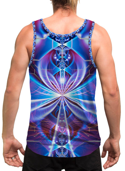 Key Of Life| Mens | Tank Top | Spiritual | Aesthetic | Clothing | Tanks | Rave| Psychedelic| Festival | Meditation | Cosmic