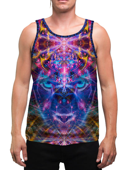 Pumayana The Magician| Mens | Tank Top | Ayahuasca| Aesthetic | Clothing | Tanks | Psychedelic| Festival | Psy| Cactus