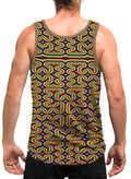 RainbowMaze | Mens | Tank Top | | Aesthetic | Clothing | Tanks | Psychedelic | Festival | Psy | Rave