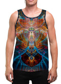 Shaman Animal | Mens | Tank Top | Aesthetic | Clothing | Tanks | Psychedelic | Festival | Psy | Animal Totem | Shaman