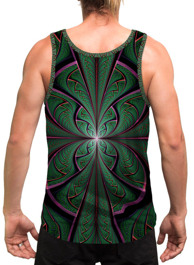 Shamazonia | Mens | Tank Top | Aesthetic | Clothing | Tanks | Psychedelic | Festival | Psy | Cactus
