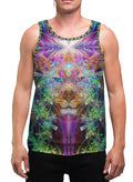 TrippinJaguar | Mens | Tank Top | Aesthetic | Clothing | Tanks | Psychedelic | Festival | Psy | Rave | Animal Totem