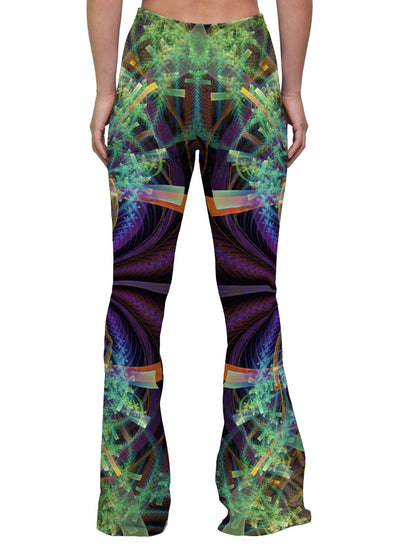 FeatherWings | Bell Bottoms | Womens | Pants | Leggings | Bell Bottom | Festival | Rave | Outfit | Clothing | High Waisted | Aesthetic
