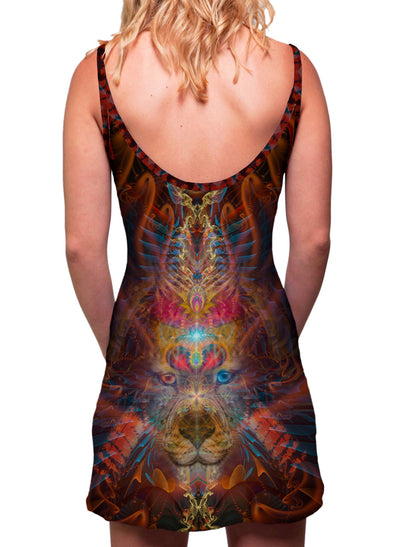 Shaman Dream| Dress | Tank | Mini | Festival | Rave | Outfit | Clothing | Aesthetic | Eco | Hippy | | Burning Man | Psychedelic
