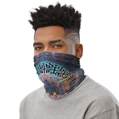 Trippy Face mask | Neck Gaiter | Bandana | Dust Mask | Stargates