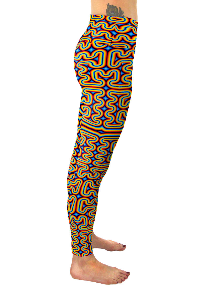 psychedelic festival pants