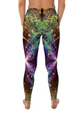 Feather Wings Leggings | Visionary Yoga Pants | Festival Clothing | Feather Wings