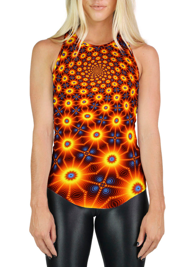 Racerback Tank Top | Yoga | Gym | Workout | Festival | Clothing | CactiSpiral