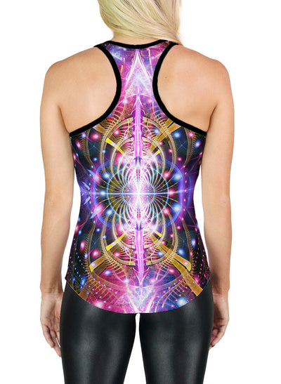 Racerback Tank Top | Yoga | Gym | Workout | Festival | Clothing | Karuna