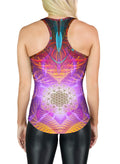 Racerback Tank Top | Yoga | Gym | Workout | Festival | Clothing | Sacred Flower