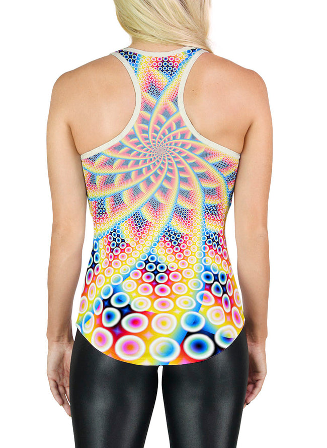 Racerback Tank Top | Yoga | Gym | Workout | Festival | Clothing | Spirabulle