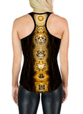 Racerback Tank Top | Yoga | Gym | Workout | Festival | Clothing | Golden Chakras
