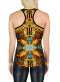 Racerback Tank Top | Yoga | Gym | Workout | Festival | Clothing | StarMatrix