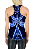 Racerback Tank Top | Yoga | Gym | Workout | Festival | Clothing | Ankh