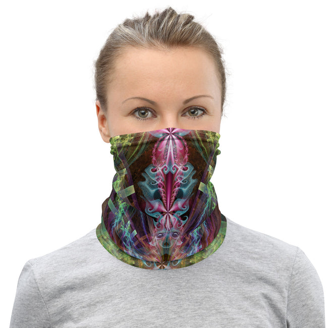 Psychedelic Face mask | Neck Gaiter | Bandana | Dust Mask | I See You