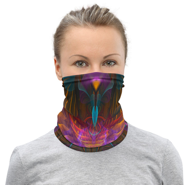 Festival Face mask | Neck Gaiter | Bandana | Dust Mask | Sacred Flower