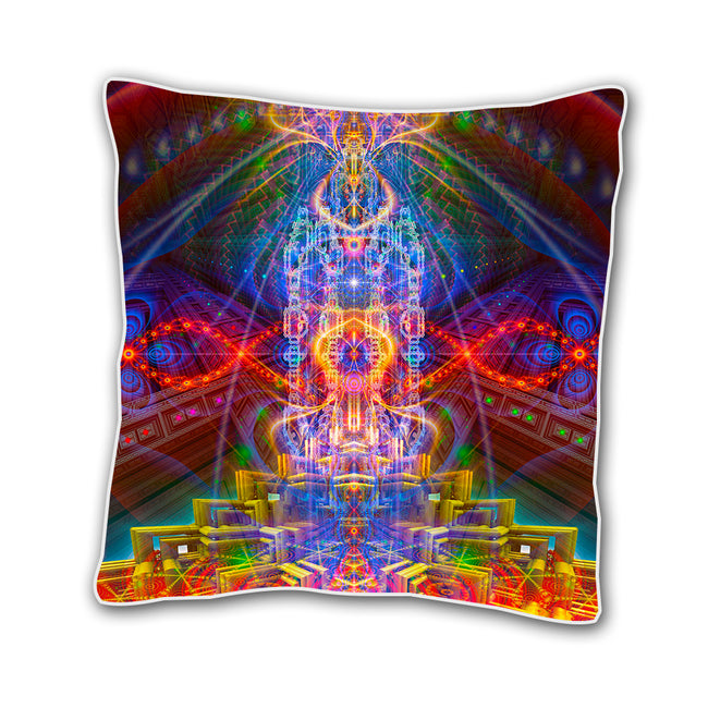 Trippy 18 x 18 Inch Throw Pillow Cover