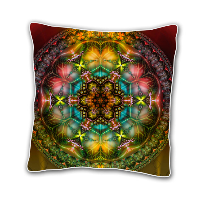 Shamanic 18 x 18 Inch Cushion Cover