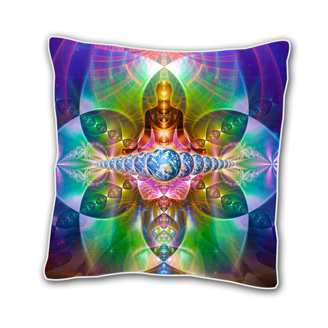 Sacred Geometry 18 x 18 In Cushion Cover