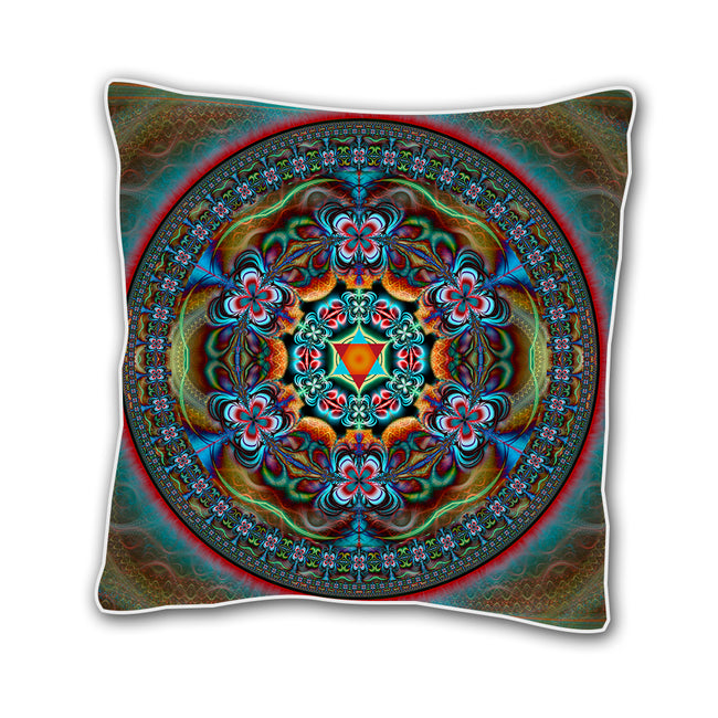 Shamanic Throw Pillow Cover