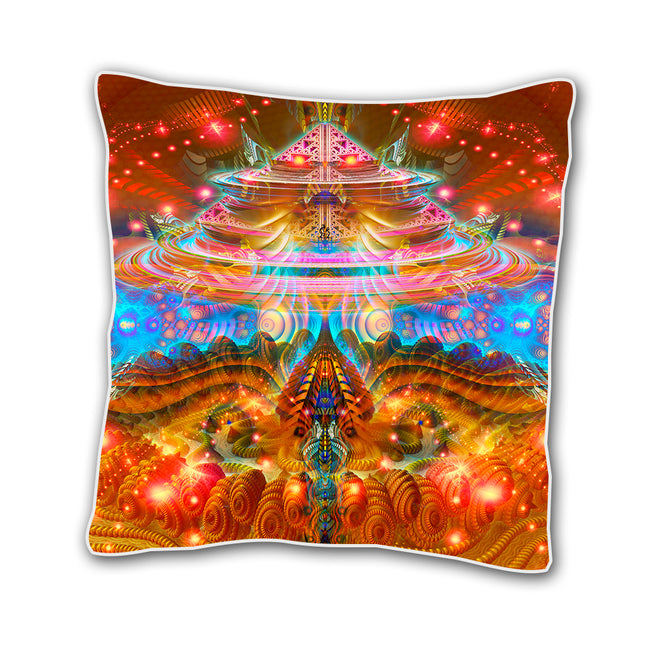 Psychedelic 18 In Cushion Cover