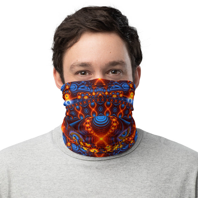 Trippy Face mask | Neck Gaiter | Bandana | Dust Mask | Cactivated DNA