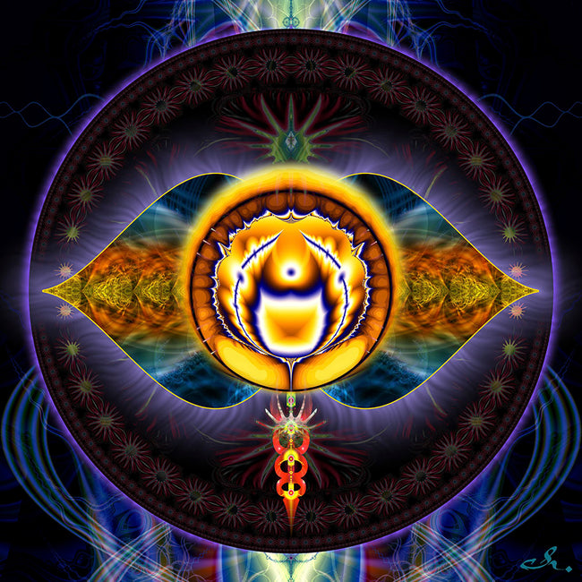 third eye chakra canvas