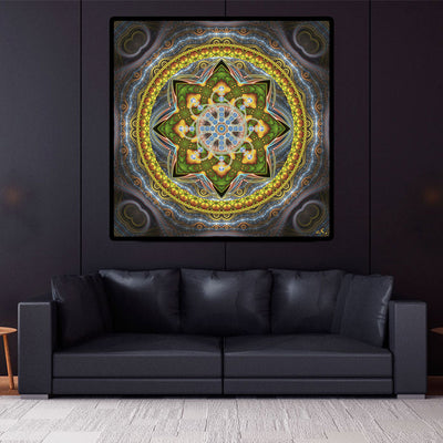 Sacred Geometry Wall Hanging | Art Tapestry | Alpha Centauri