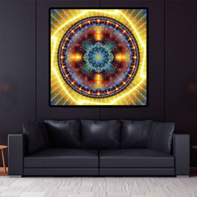 Atlantis Tapestry | Sacred Geometry Wall Hanging | Mandala | Atlantis