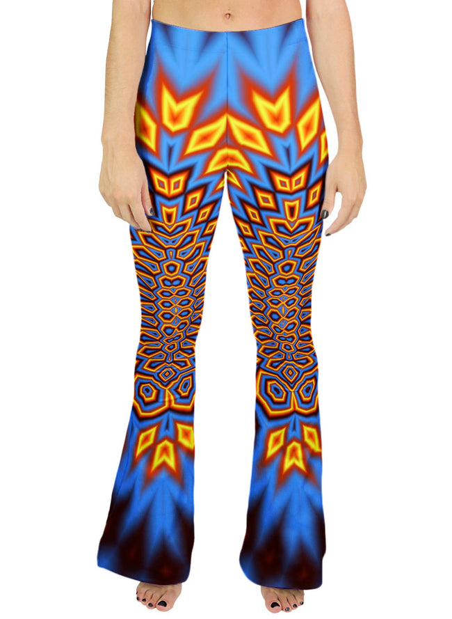 Psychedelic Bell Bottom Pants | Women's | Festival Rave | Peyote