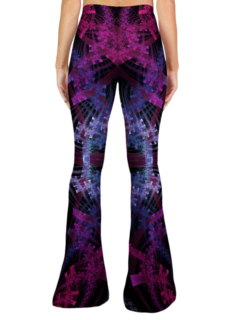 Purple Bell Bottom Pants | Women | Festival | Rave | Purple Haze