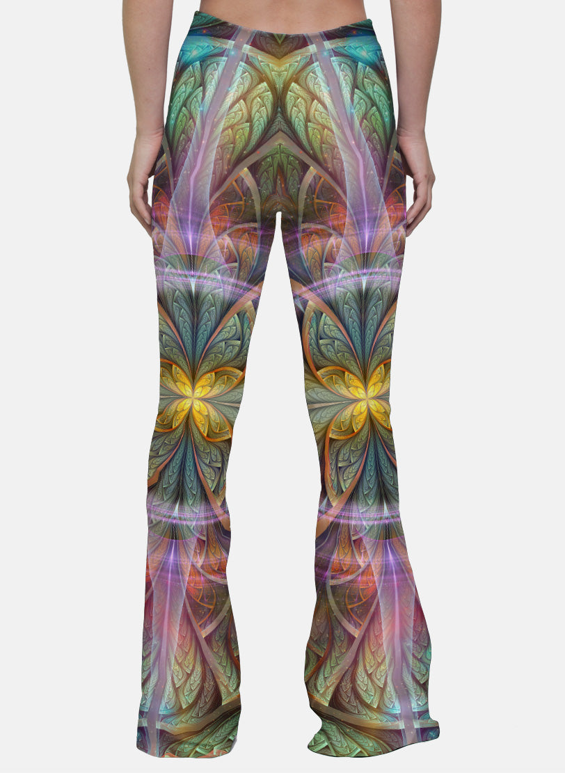 Gaiahuasca | Bell Bottoms | Womens | Pants | Leggings | Gaia | Festival | Rave | Outfit | Clothing | High Waisted |