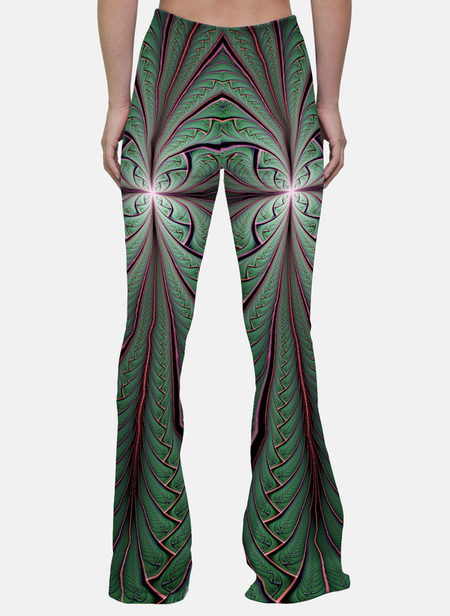 Shamazonia | Bell Bottoms | Womens | Pants | Leggings | Gaia | Festival | Rave | Outfit | Clothing | High Waisted |