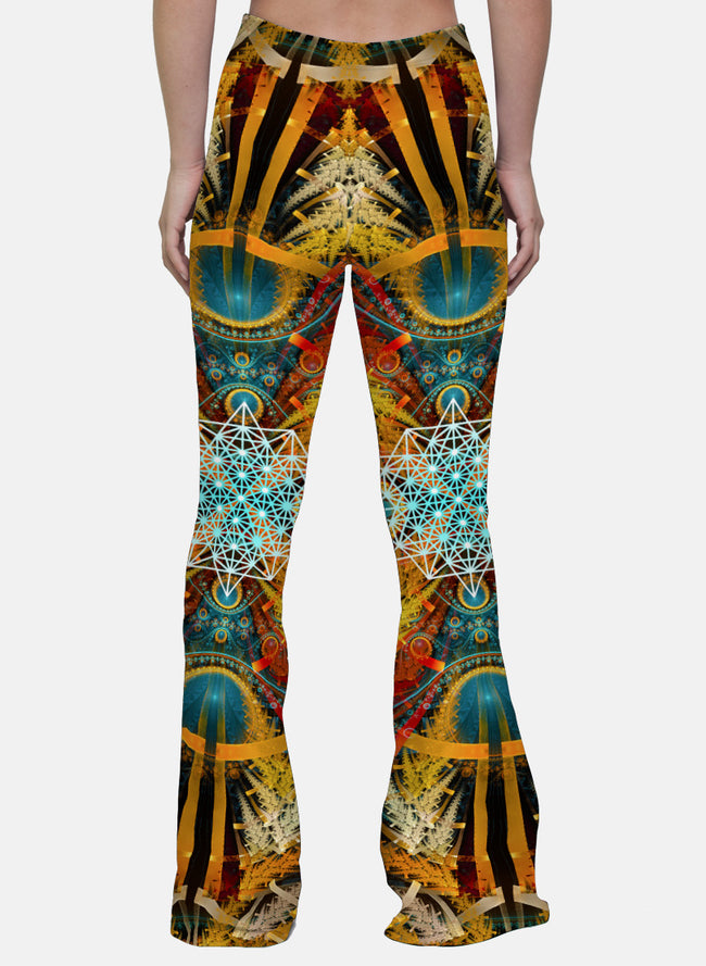 StarMatrix | Bell Bottoms | Womens | Pants | Leggings | Festival | Rave | Outfit | Clothing | High Waisted |