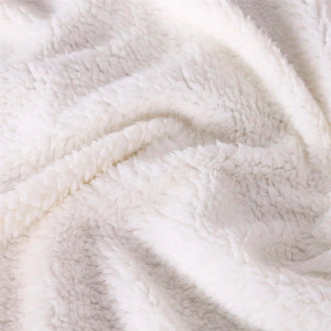 Abundance Throw Blanket | Sherpa Fleece Blanket | Soft | Abundancia