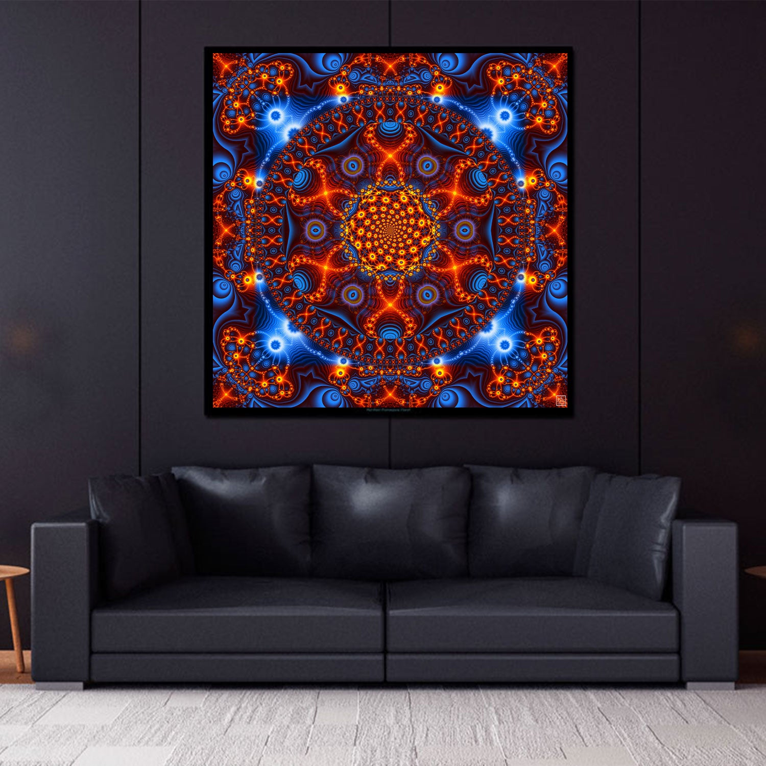 Psychedelic Tapestry | DNA Wall Hanging | Trippy Art | Cactivated DNA
