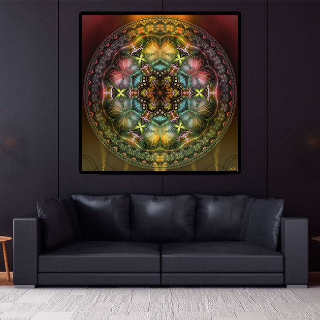 Ayahuasca Stretched Canvas