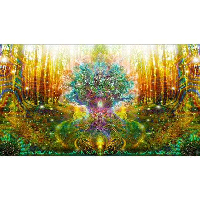 Shamanic Healing Tapestry | Spiritual Wall Hanging | Dear Mother Tree