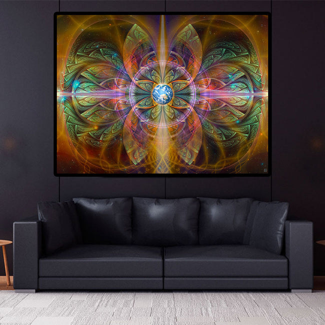 Gaiahuasca Poster | Art Print | Psychedelic| | Spiritual | | Visionary | Psy | Art