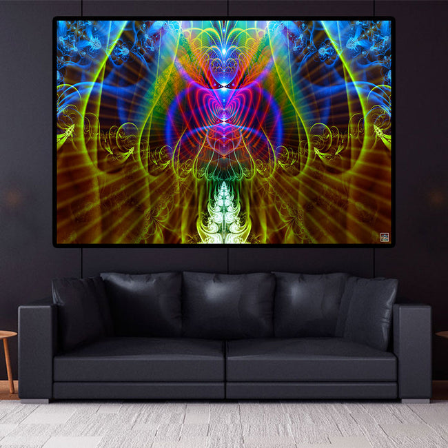Spiritual Wall Tapestry | Meditation Wall Hanging | Halls of Amentis