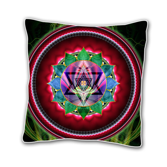 Heart Chakra Cushion Cover